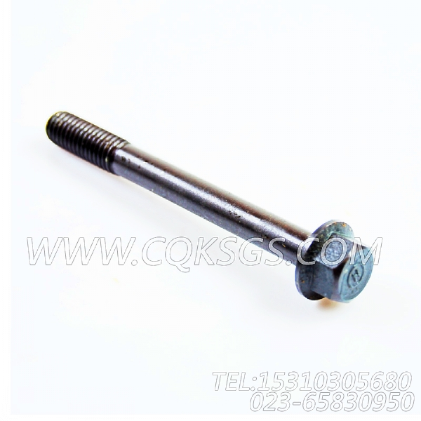 3043649六角螺栓,用于康明斯NTC-290发动机排气管组,【太原亮箭接触网作业车】配件
