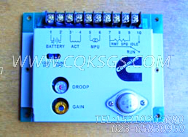 3044195调速控制器,用于康明斯NTA855-G1(M)-60HZ柴油机燃油泵控制器组,【船舶用】配件-0