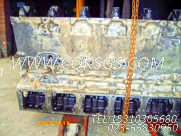 3044517气缸体总成,用于康明斯KTA19-G3(M)主机基础件组,【船舶机械】配件-2