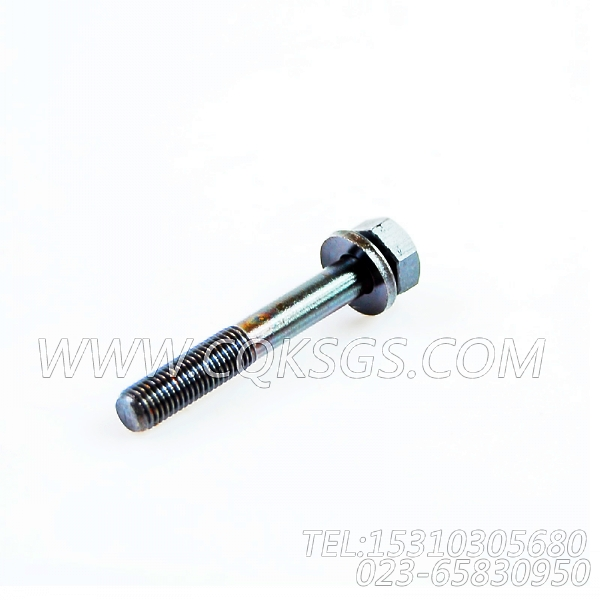 3044901带垫螺栓,用于康明斯NTA855-G4发动机机油滤清器组,【动力电】配件-1