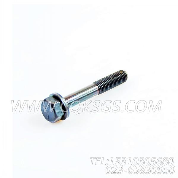 3044901带垫螺栓,用于康明斯NTA855-G4发动机机油滤清器组,【动力电】配件-0