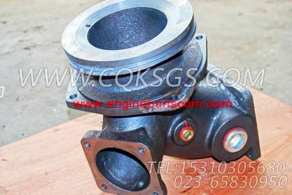 3045568进水接头,用于康明斯KTA38-G5柴油机基础件组,【柴油发电】配件