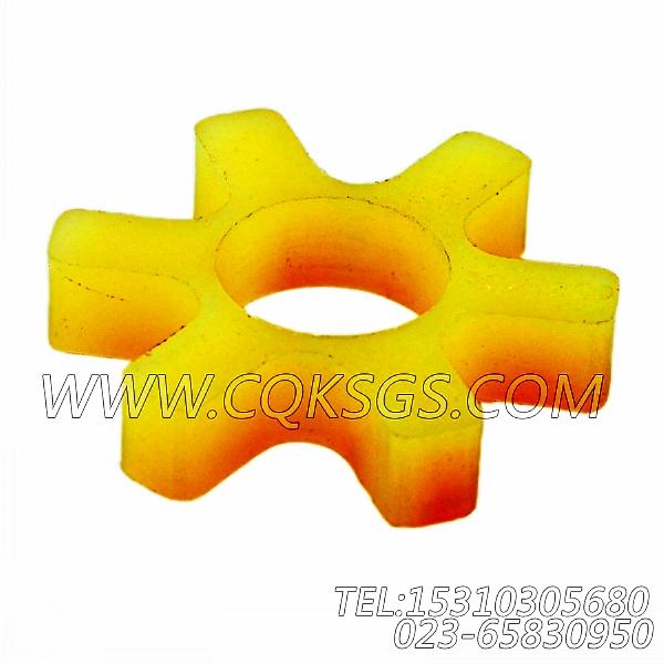 3046200爪式联轴节缓冲片,用于康明斯M11-C300主机燃油泵组,【挖掘机】配件-2