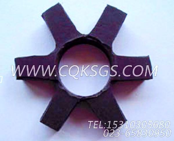 3046200爪式联轴节缓冲片,用于康明斯KTA19-G3(M)发动机燃油管路组,【轮船用】配件-0