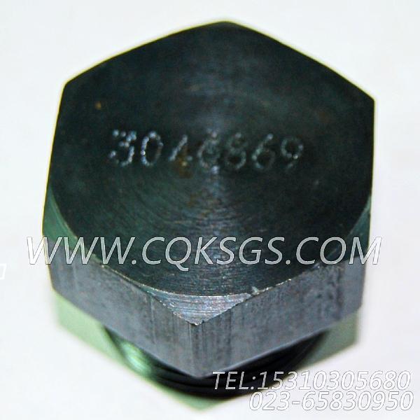 3046869放油塞,用于康明斯NT855-C280柴油机机油盘组,【油田压裂车】配件-2