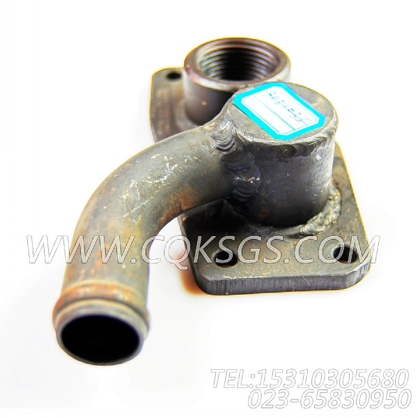 3051035出水接头,用于康明斯NTA855-C360动力出水管安装组,【中置式拌和机】配件-0