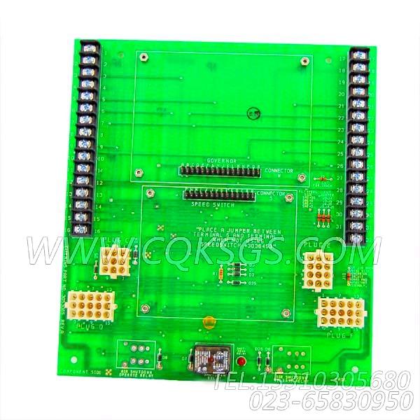 3053065线路扳,用于康明斯KTA38-G2发动机仪表箱组,【柴油发电】配件-0