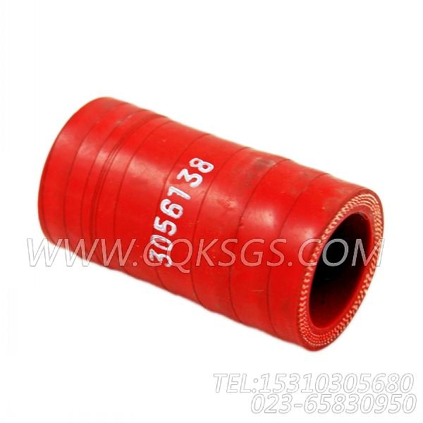 3056138软管,用于康明斯NTA855-P400柴油机进气管组,【水泵机组】配件-0