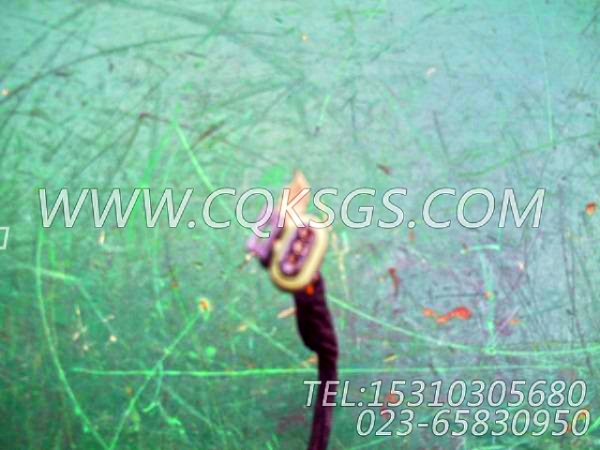 3056356报警器导线,用于康明斯KTA19-C525主机油压报警开关组,【天津科普抛雪机】配件-0