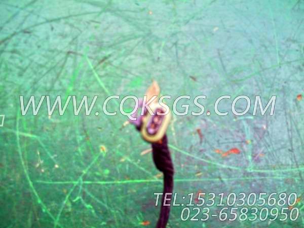 3056356报警器导线,用于康明斯KTA38-C1200发动机水温报警开关组,【矿山机械】配件-1