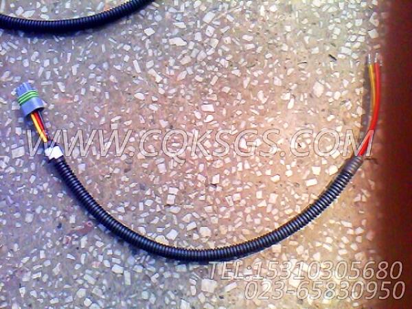 3056356报警器导线,用于康明斯KTA38-C1200发动机水温报警开关组,【矿山机械】配件-0