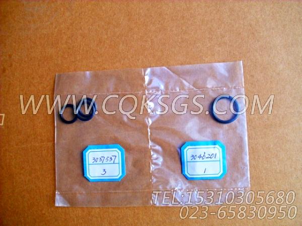 3046201O型圈,用于康明斯M11-C225发动机机油冷却器组,【冷再生机】配件-2