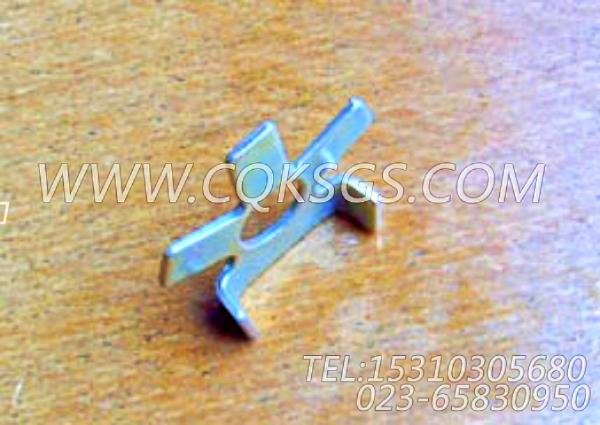114638锁紧片,用于康明斯NTC-350动力排气管及安装组,【扫雪车】配件-1