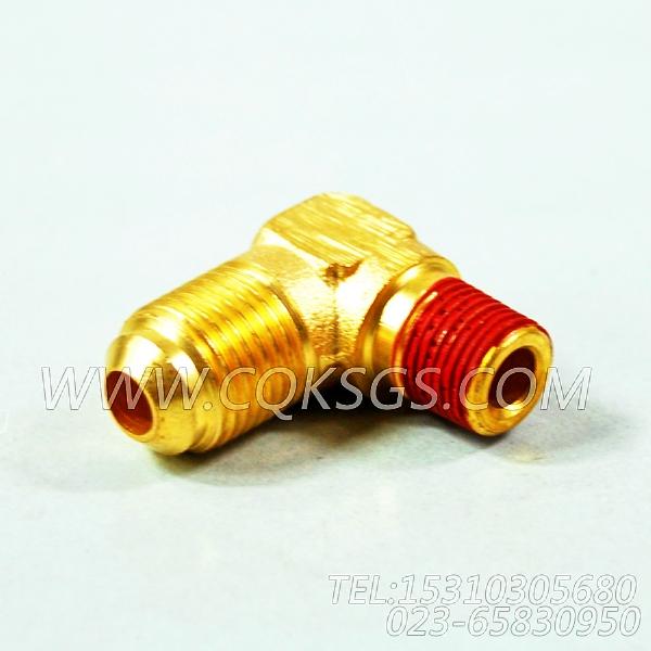 116936阳性弯管接头,用于康明斯NT855-P300柴油发动机燃油进回油管路组,【应急水泵机组】配件-0