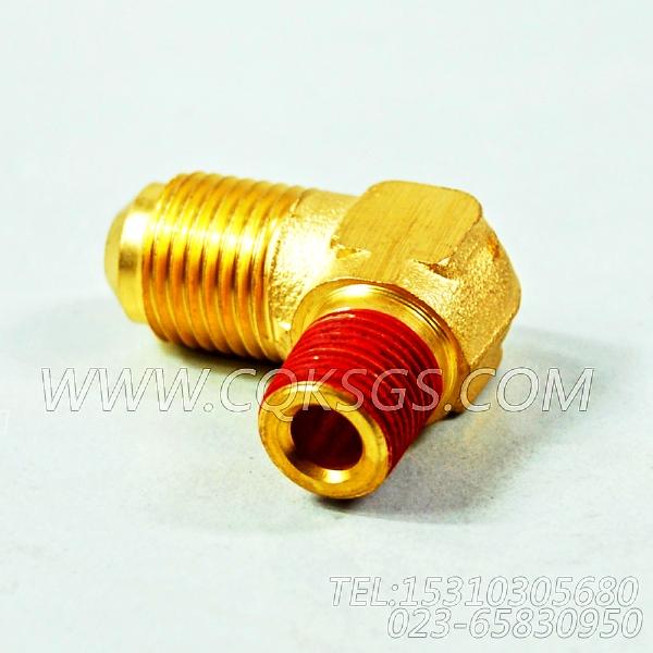 116936阳性弯管接头,用于康明斯KTA19-M600主机热交换器组,【船机】配件-0
