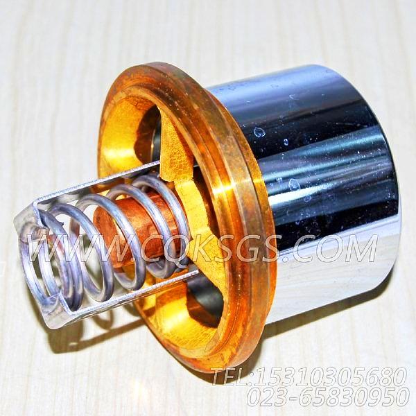 3076489节温器,用于康明斯NTA855-G2动力出水管联接组,【电力】配件-2