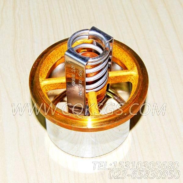 3076489节温器,用于康明斯NTA855-C400柴油机出水管联接组,【装载机】配件-0