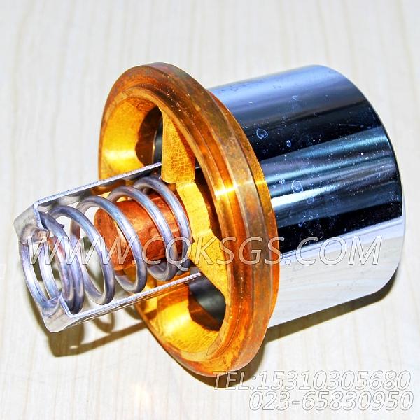 3076489节温器,用于康明斯NTA855-C360发动机出水管联接组,【材料运输车】配件-2