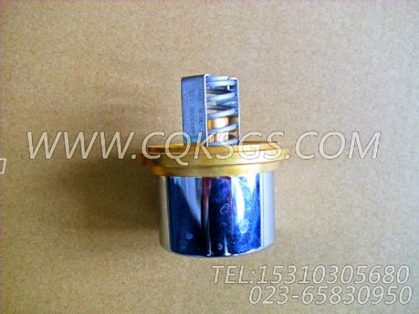 3076489节温器,用于康明斯NTA855-G2动力出水管联接组,【电力】配件-0