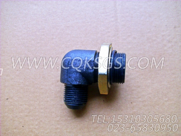 3032628阳性弯接头,用于康明斯KTA38-G5-880KW发动机燃滤器管路组,【电力】配件