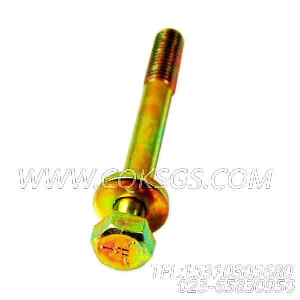 3078053带垫螺栓,用于康明斯KT19-M425主机机油冷却器组,【船用主机】配件