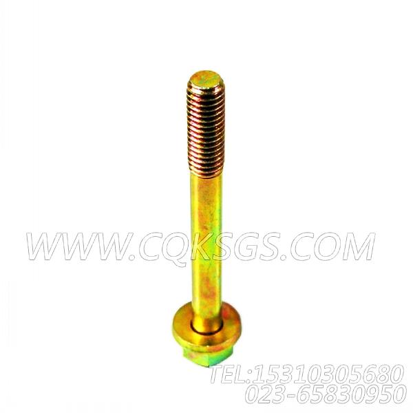 3078053带垫螺栓,用于康明斯KT19-C450主机机油冷却器组,【冷再生机】配件-2