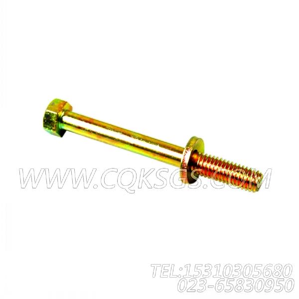 3078053带垫螺栓,用于康明斯KT19-M425主机机油冷却器组,【船用主机】配件-2