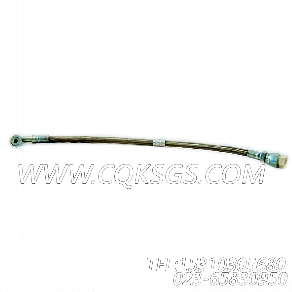 3086055柔性软管,用于康明斯KTA19-G4主机增压器安装组,【柴油发电】配件-0