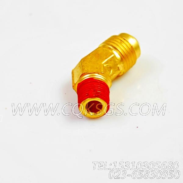 120437阳性弯管接头,用于康明斯NTA855-G1主机散热器组,【发电机组】配件-0