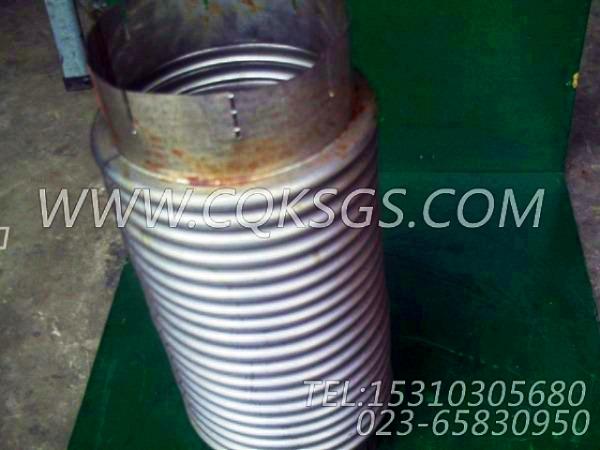 125125波纹管,用于康明斯NTA855-C360发动机发动机散件组,【华菱俄罗斯牵引车】配件-0