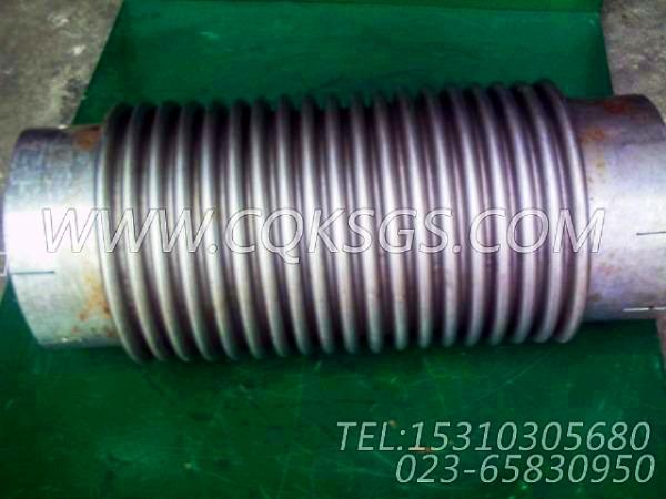 125125波纹管,用于康明斯NTA855-C360发动机发动机散件组,【华菱俄罗斯牵引车】配件-1
