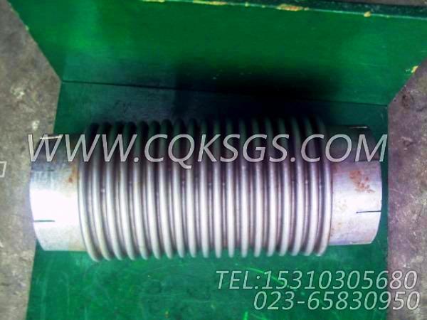 125125波纹管,用于康明斯NTA855-C360发动机发动机散件组,【华菱俄罗斯牵引车】配件-2