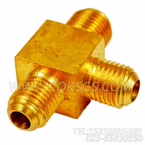 3165833三通接头,用于康明斯NTA855-P360动力燃油进回油管路组,【泥浆泵】配件-0