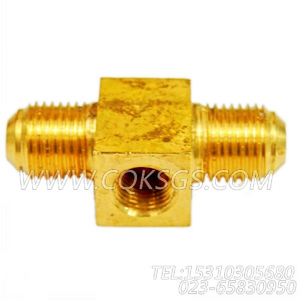 3165842三通接头,用于康明斯KTTA19-G2动力燃油管路组,【动力电】配件-0