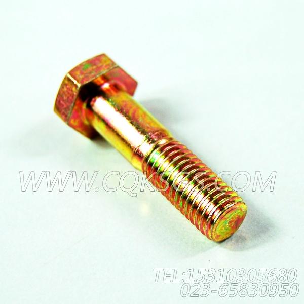 3165922六角螺栓,用于康明斯NTA855-GH柴油发动机排气消声器组,【发电用】配件-1