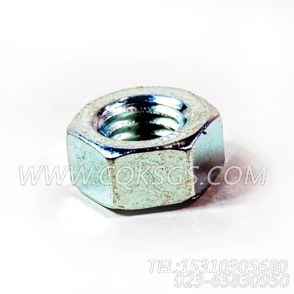 3165937六角螺母,用于康明斯M11-C290柴油发动机散件组,【天津科普抛雪机】配件-2