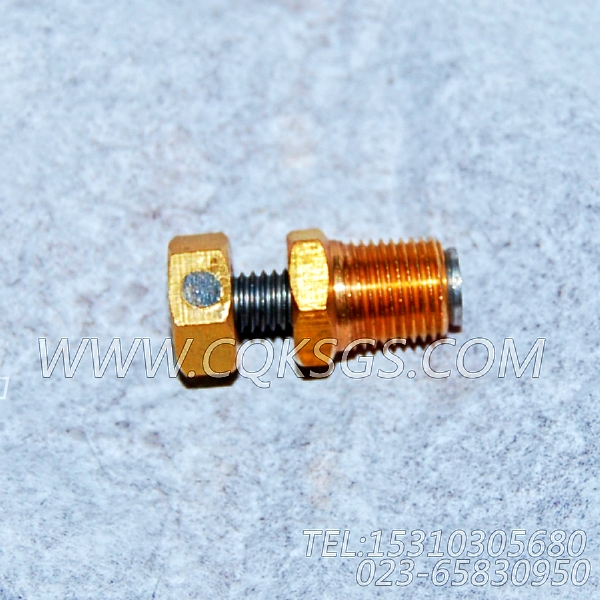 3165998放水开关,用于康明斯KTA38-G2-660KW柴油机散件组,【发电用】配件-1