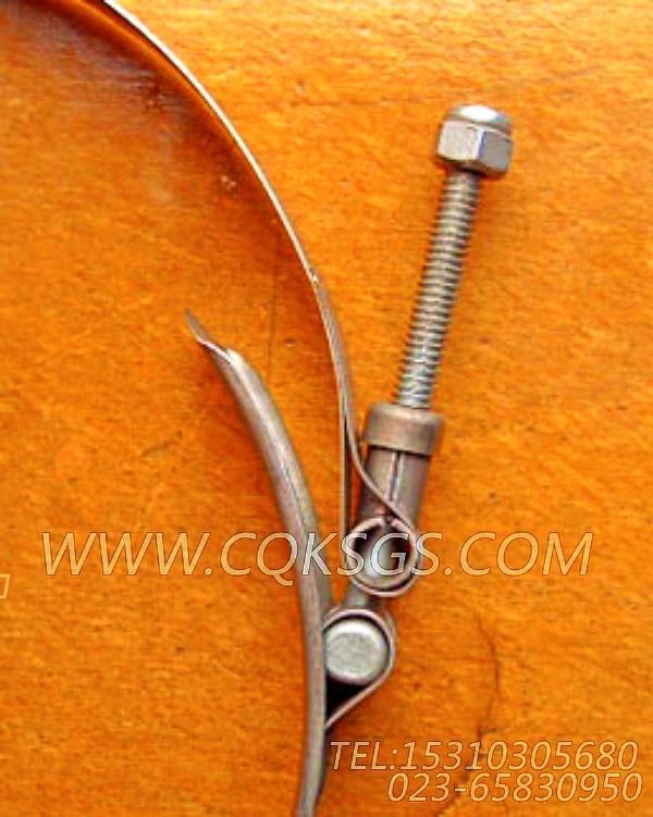 3175623抱箍,用于康明斯M11-C290发动机散件组,【天津科普抛雪机】配件