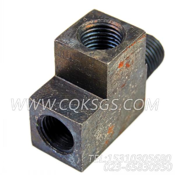3175687异径三通接头,用于康明斯KTA19-M600发动机进气管组,【船用】配件