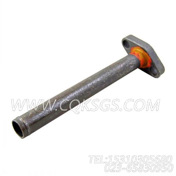3200178增压器回油管,用于康明斯KTA19-P540主机增压器安装组,【应急水泵机组】配件-2
