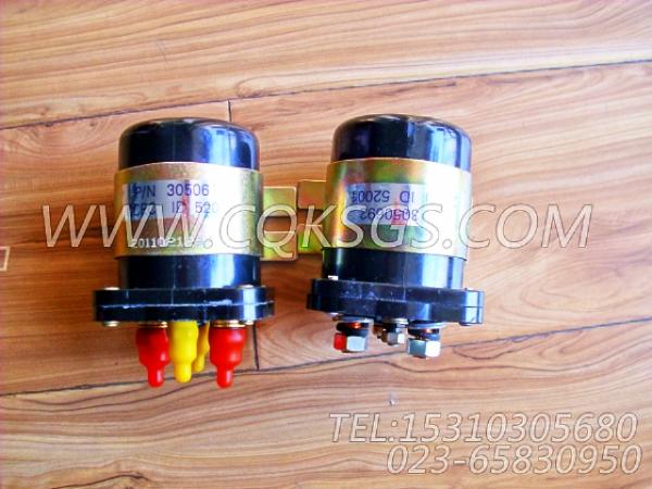 3050692电磁开关,用于康明斯KTA38-G5-800GF柴油发动机磁力开关组,【电力】配件