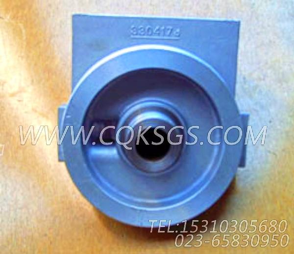3304173旁滤器座,用于康明斯NG4柴油机旁通机油滤清器组,【柴油发电】配件-2