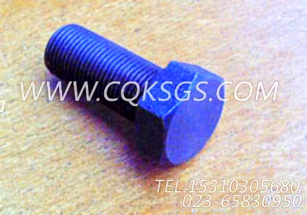 138042六角螺栓,用于康明斯NTC-290发动机飞轮壳组,【混应土拖泵】配件-1