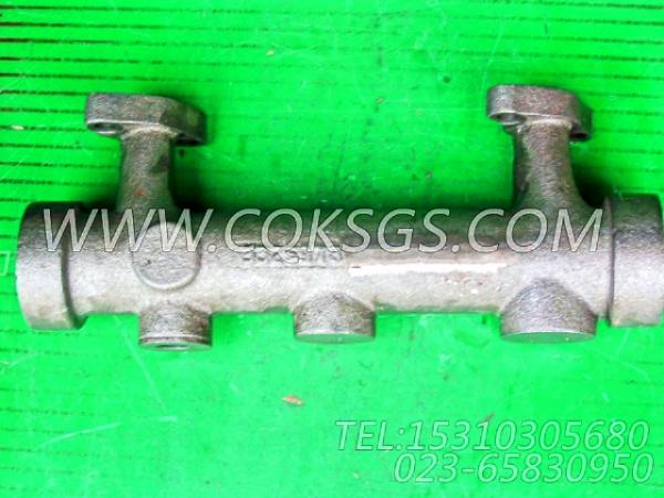 3325978中出水管,用于康明斯NT855-C280发动机出水管组,【台湾轨道车】配件-1