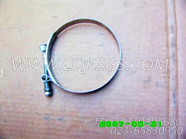 140312抱箍,用于康明斯M11-C225柴油机软管组,【混沙撬】配件-2