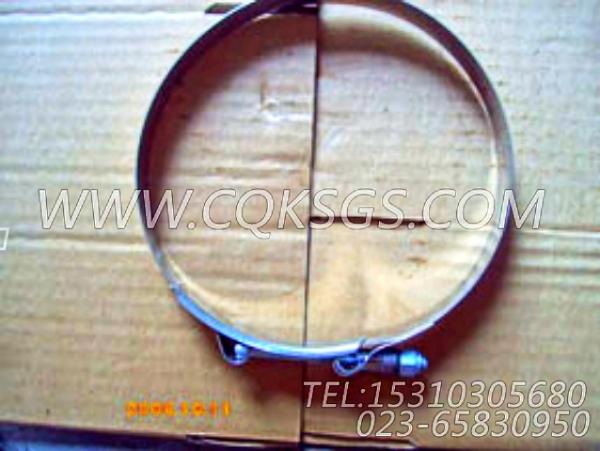 140313抱箍,用于康明斯NTA855-C360主机空滤器弯管组,【内燃机车】配件-2