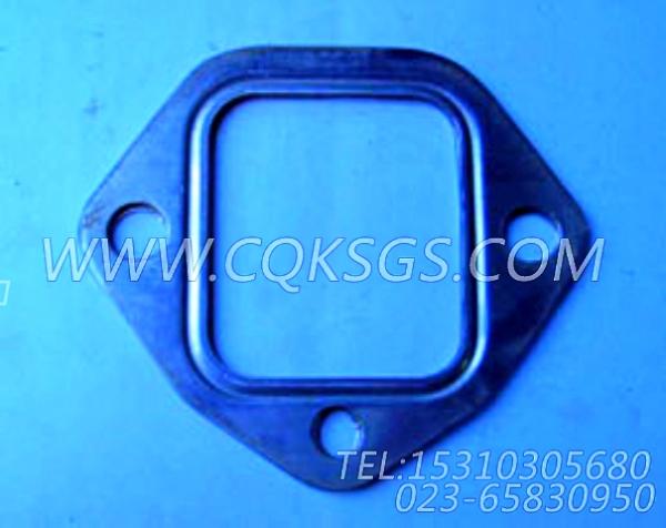 142234排气管衬垫,用于康明斯NT855-C280主机排气管及安装组,【冷再生机】配件-1