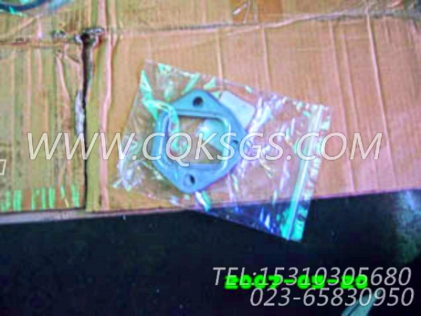 142234排气管衬垫,用于康明斯NT855-C280主机排气管及安装组,【冷再生机】配件-2