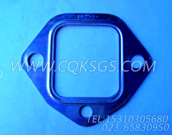 142234排气管衬垫,用于康明斯NT855-C280主机排气管及安装组,【冷再生机】配件-0