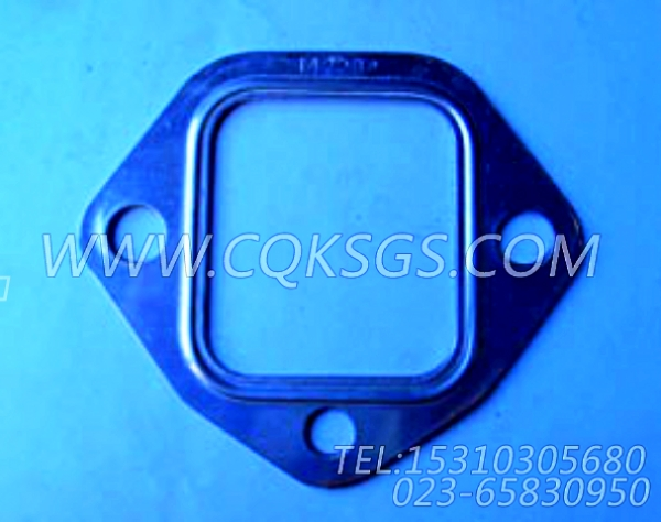 142234排气管衬垫,用于康明斯NT855-C280柴油发动机排气管及安装组,【冷再生机】配件-1